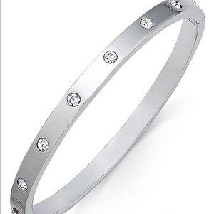 Silver Kate Spade Bangle Bracelet